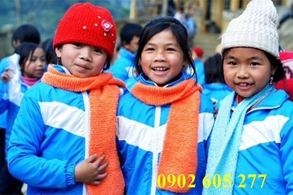 Nơi nào bán áo ấm từ thiện cho trẻ em nghèo giá rẻ?