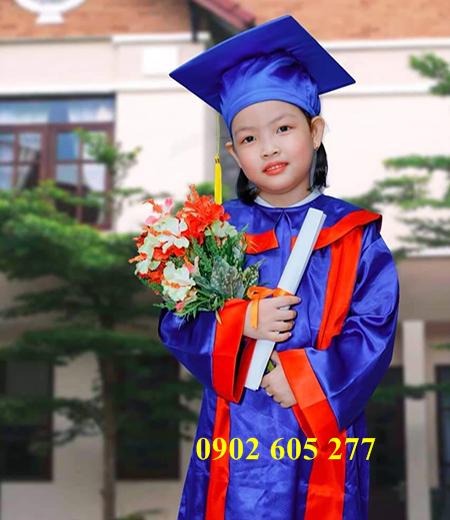 Lễ phục tốt nghiệp mầm non cho trường học