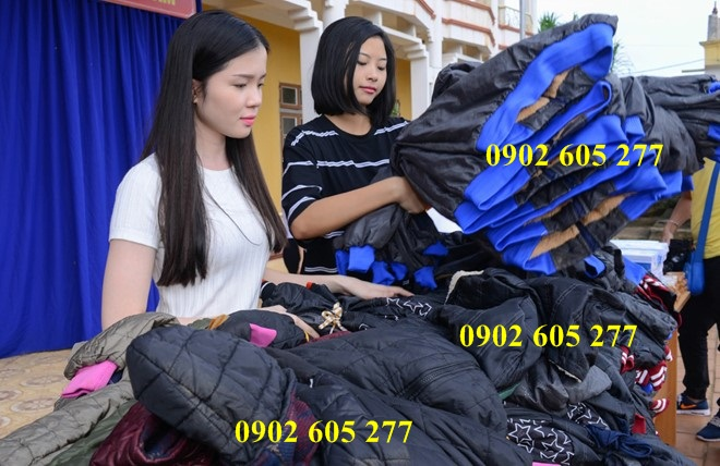 Thanh lí áo khoác từ thiện 40k tại Tân Bình