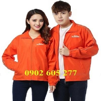 May áo khoác đồng phục cho nữ - nam ở Sài Gòn