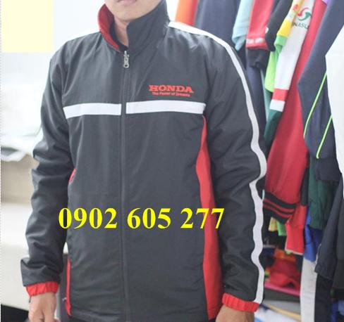 Xưởng sản xuất áo khoác honda giá rẻ tại tphcm
