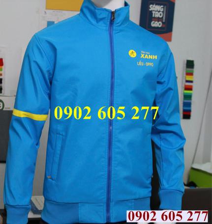 Địa chỉ may áo khoác đồng phục cho nhân viên ở Vũng Tàu